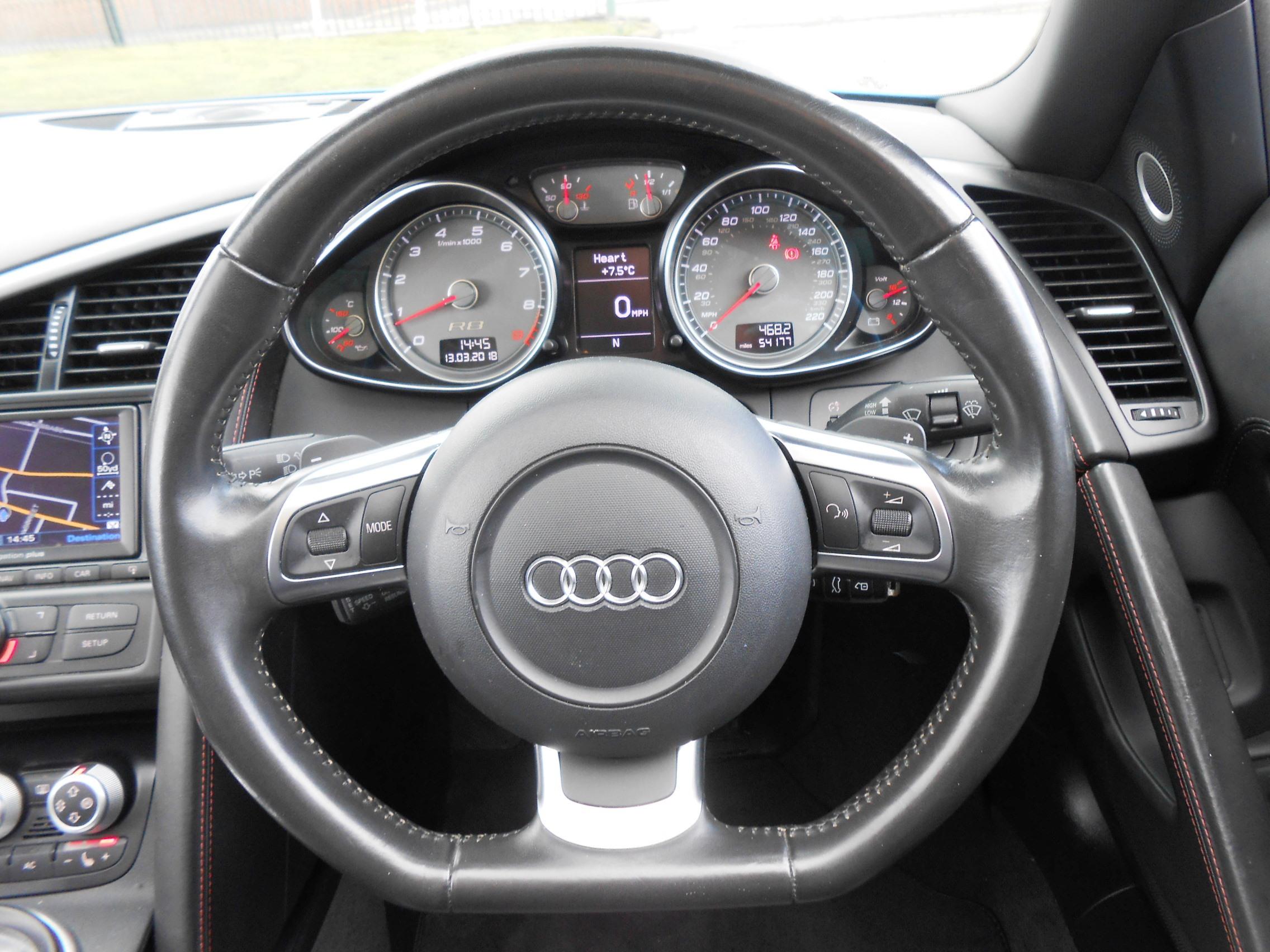 2011 11 Audi R8 4 2 FSI V8 Spyder Quattro 2dr King Street Motor